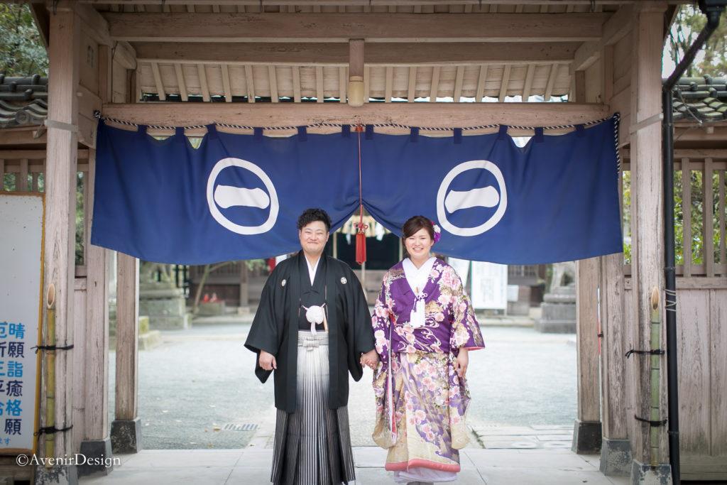 日吉神社 和装前撮り
