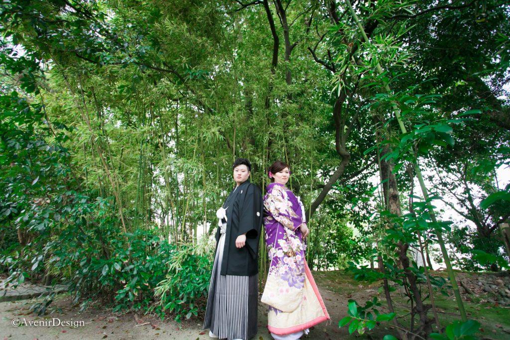 柳川市の日吉神社|和装前撮り