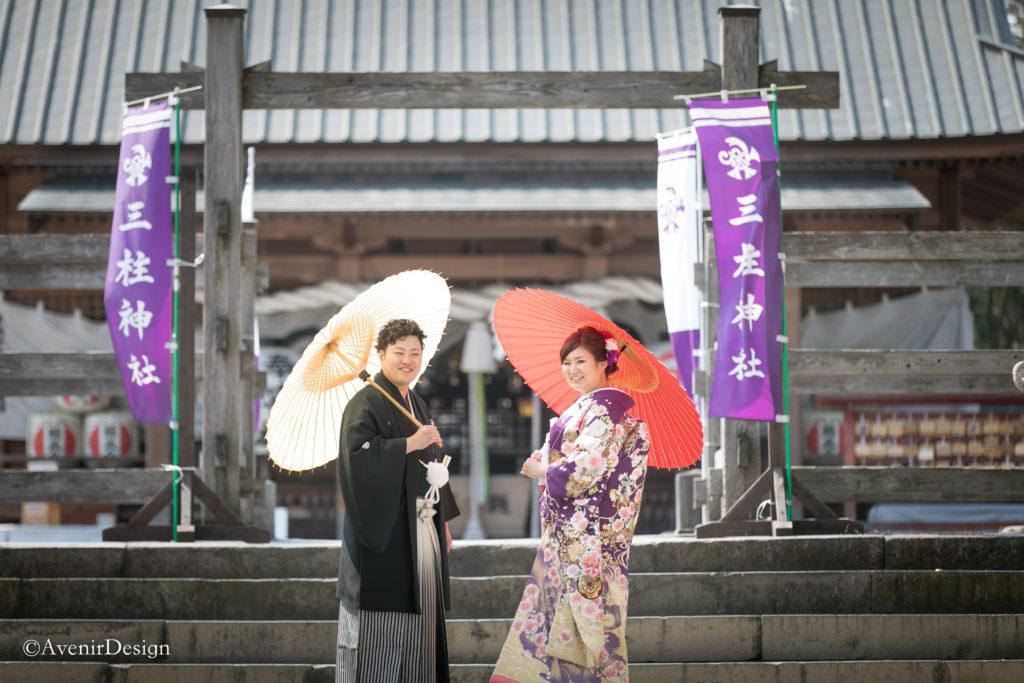 柳川市の三桂神社|和装前撮り