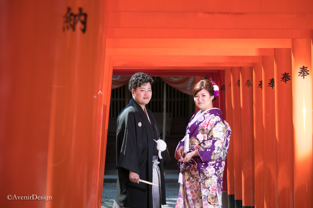 柳川市の三桂神社 和装前撮り