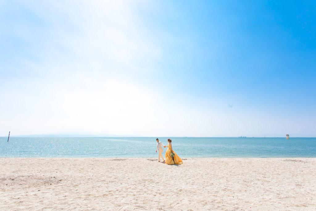 三池海水浴場|大牟田|結婚式前撮り