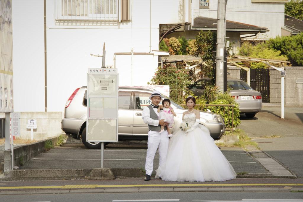 結婚式前撮り写真 大牟田市