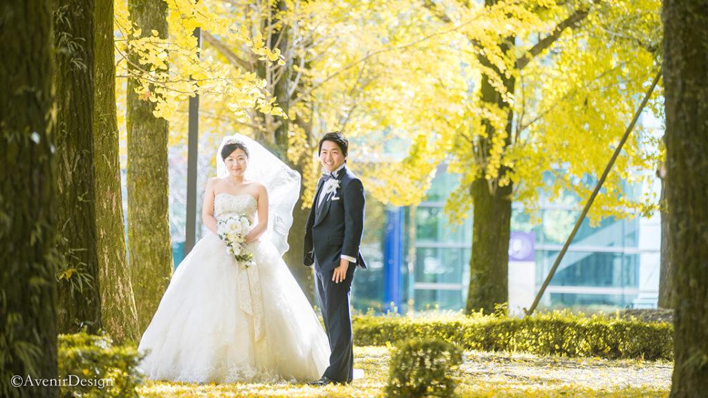 結婚式前撮り|大学