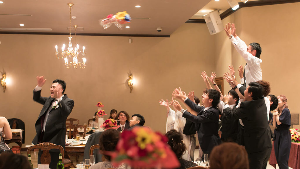 荒尾の結婚式場|ラヴィアンシェリーでの披露宴