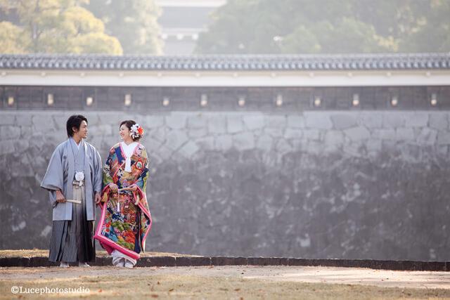 熊本城|和装前撮り