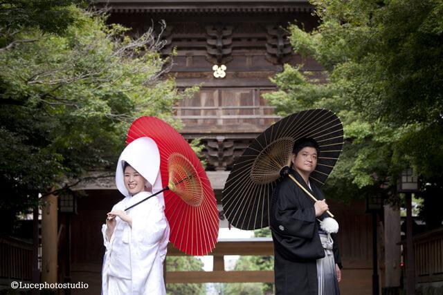 熊本|和装前撮り|健軍神社
