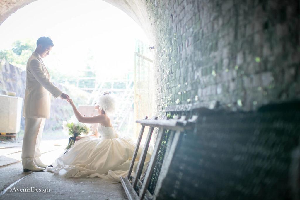 荒尾|結婚式の前撮りロケーション撮影